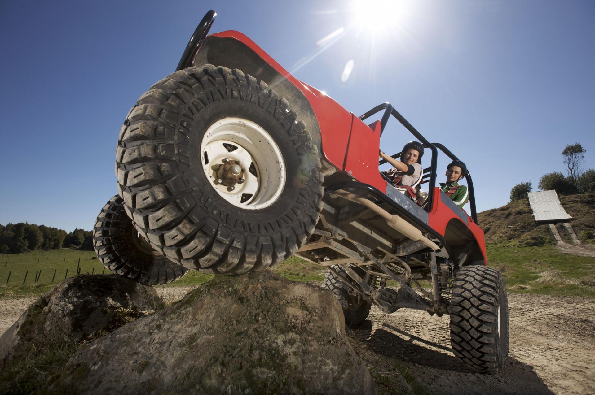 Monster 4x4 Thrill Ride Kids